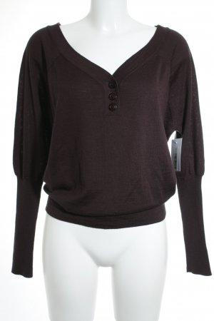 Comptoir des Cotonniers Wollpullover braunviolett Casual-Look