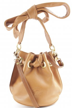 Comtesse Pouch Bag light brown-gold-colored casual look