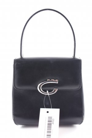 Comtesse Henkeltasche schwarz Business-Look