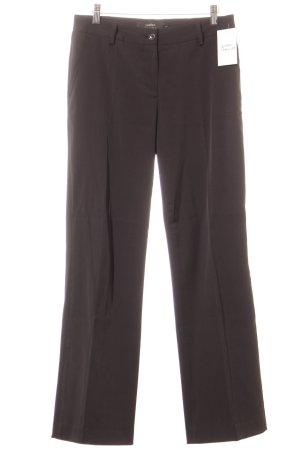 conbipel Pantalon à pinces noir style d'affaires