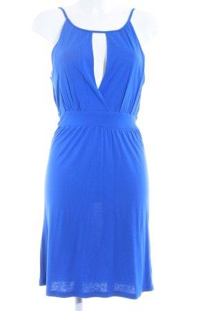 conbipel Minikleid blau schlichter Stil