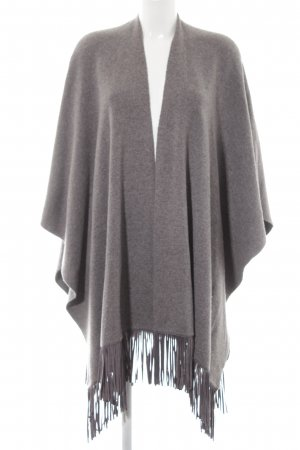 Concept K Strickponcho grau Casual-Look