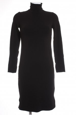 Concept Reserved Sweater Dress black simple style