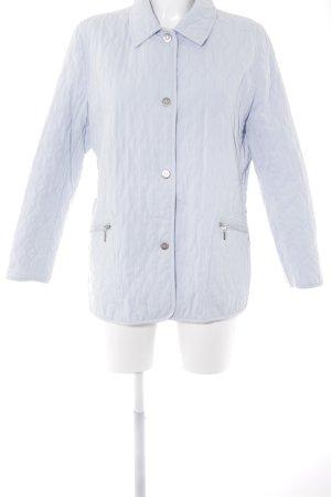 Concept UK Steppjacke blassblau-weiß Steppmuster Casual-Look