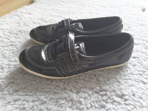 Adidas Ballerines en cuir verni noir