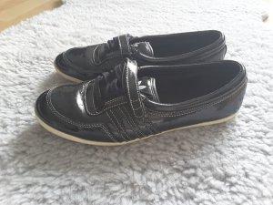 Adidas Patent Leather Ballerinas black