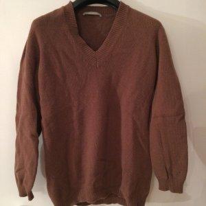 Stefanel Jersey de lana coñac lana merina