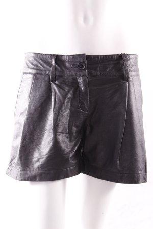 Conley's Ledershorts schwarz