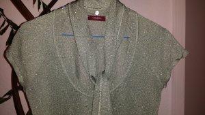 CONLEY'S Lurex Shirt glitzer metallic Gr.S / 36 mint *1A*