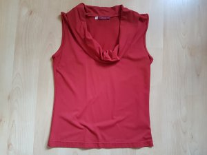 CONLEY'S Shirt mit Schalkragen * Gr. M * Fb. ziegelrot