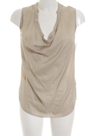 Conleys ärmellose Bluse sandbraun Elegant