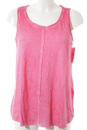 Conleys Top batik magenta-rose fluo motif batik style décontracté