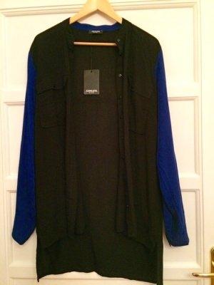 Conleys Black Bluse schwarz blau 42 NEU