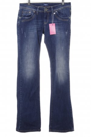 Conleys Boot Cut Jeans blau Casual-Look