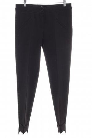 Conleys Bundfaltenhose schwarz Business-Look