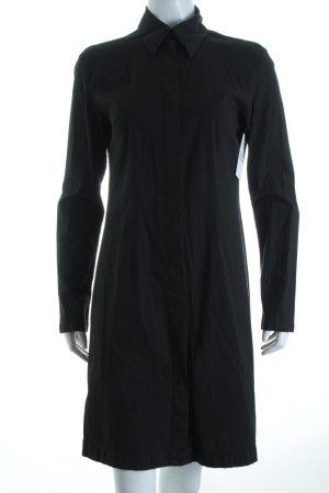 Conleys Hemdblusenkleid schwarz klassischer Stil