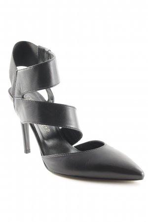 Conleys High Heel Sandaletten schwarz Elegant