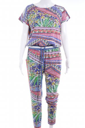 Conleys Jumpsuit mixed pattern casual look