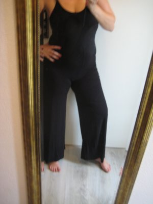 Conleys Jumpsuit schwarz Rückenfrei Gr L