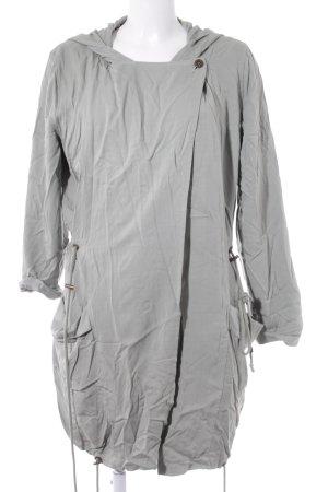 Conleys Manteau à capuche gris vert style athlétique