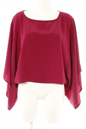 Conleys Kimono blouse paars casual uitstraling