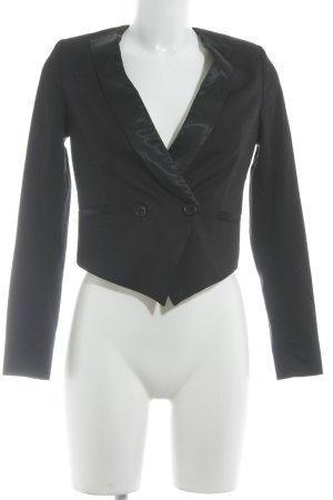 Conleys Kurz-Blazer schwarz klassischer Stil