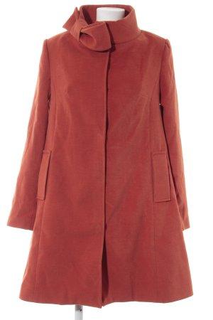 Conleys Manteau court rouille-orange foncé tissu mixte