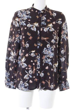 Conleys Langarm-Bluse florales Muster Romantik-Look