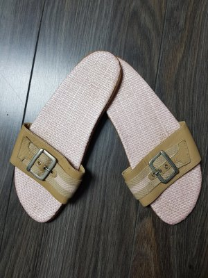 Conleys Comfort Sandals light pink-gold-colored leather