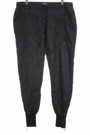Conleys Leinenhose schwarz Casual-Look