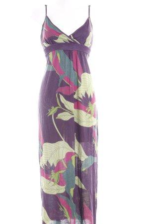 Conleys Maxikleid florales Muster klassischer Stil