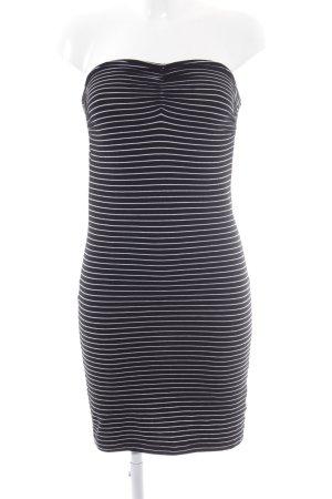 Conleys Minikleid schwarz Streifenmuster Beach-Look
