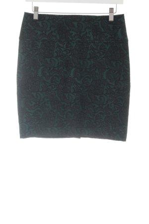 Conleys Minirock grün-schwarz Casual-Look