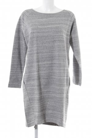 Conleys Sweater Dress light grey-grey flecked casual look
