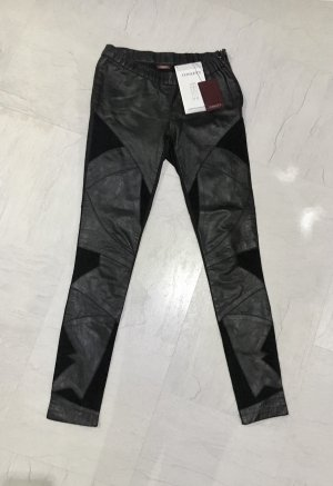 Conleys Leather Trousers black