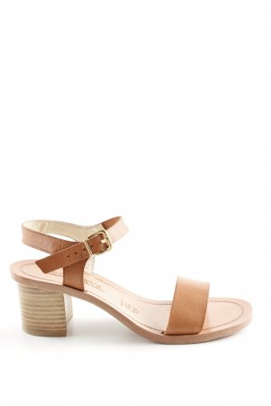 Conleys Strapped High-Heeled Sandals brown business style
