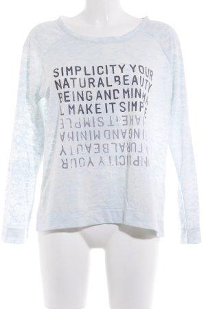 Conleys Rundhalspullover Schriftzug gedruckt Street-Fashion-Look