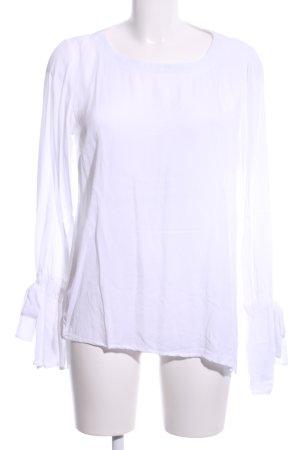 Conleys Blusa caída blanco look casual