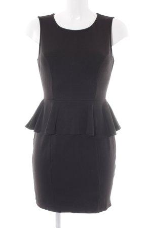 Conleys Peplum jurk zwart zakelijke stijl