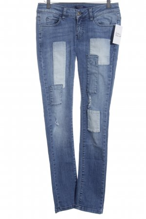 Conleys Skinny Jeans blau Casual-Look