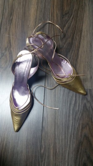 Conleys Slingpumps * gold metallic * Gr. 39 * Neu