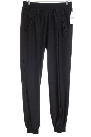 Conleys Stoffen broek zwart casual uitstraling