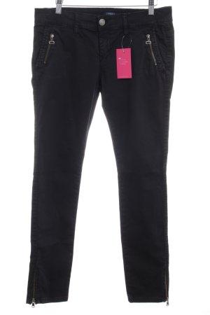 Conleys Straight-Leg Jeans schwarz schlichter Stil