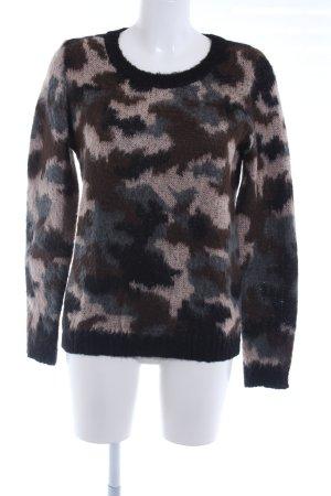 Conleys Gebreide trui camouflageprint casual uitstraling