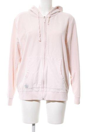 Conleys Sweatjacke pink Motivdruck Casual-Look