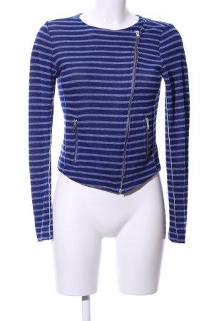 Conleys Sweat Jacket blue-light grey allover print casual look