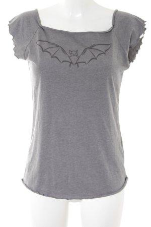 Conleys T-Shirt grau Street-Fashion-Look