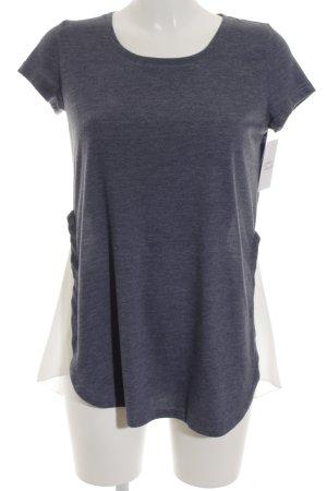 Conleys T-Shirt weiß-kornblumenblau Casual-Look
