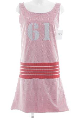 Conleys Trägerkleid rot-weiß Mustermix sportlicher Stil