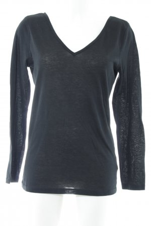 Conleys V-Ausschnitt-Pullover schwarz Casual-Look